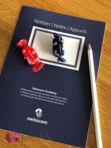 notizmaterial swisscom academy