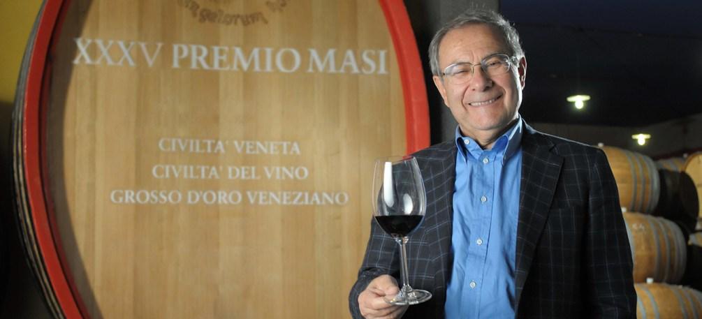 Sandro Boscaini -XXXV Premio Masi- Botte Amarone (1)