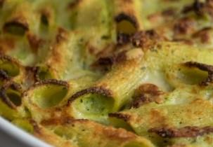 rigatoni zucchine spek e zucchine