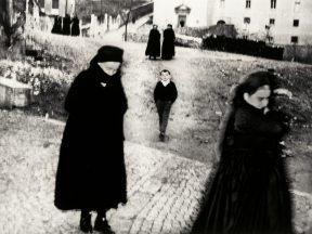 Mario Giacomelli - La gente del sud. Il bambino., 1959jpg