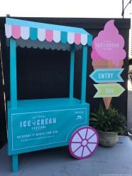 Brisbane Icecream Festival Entry Barrow