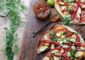 Flavours Of India Pizza