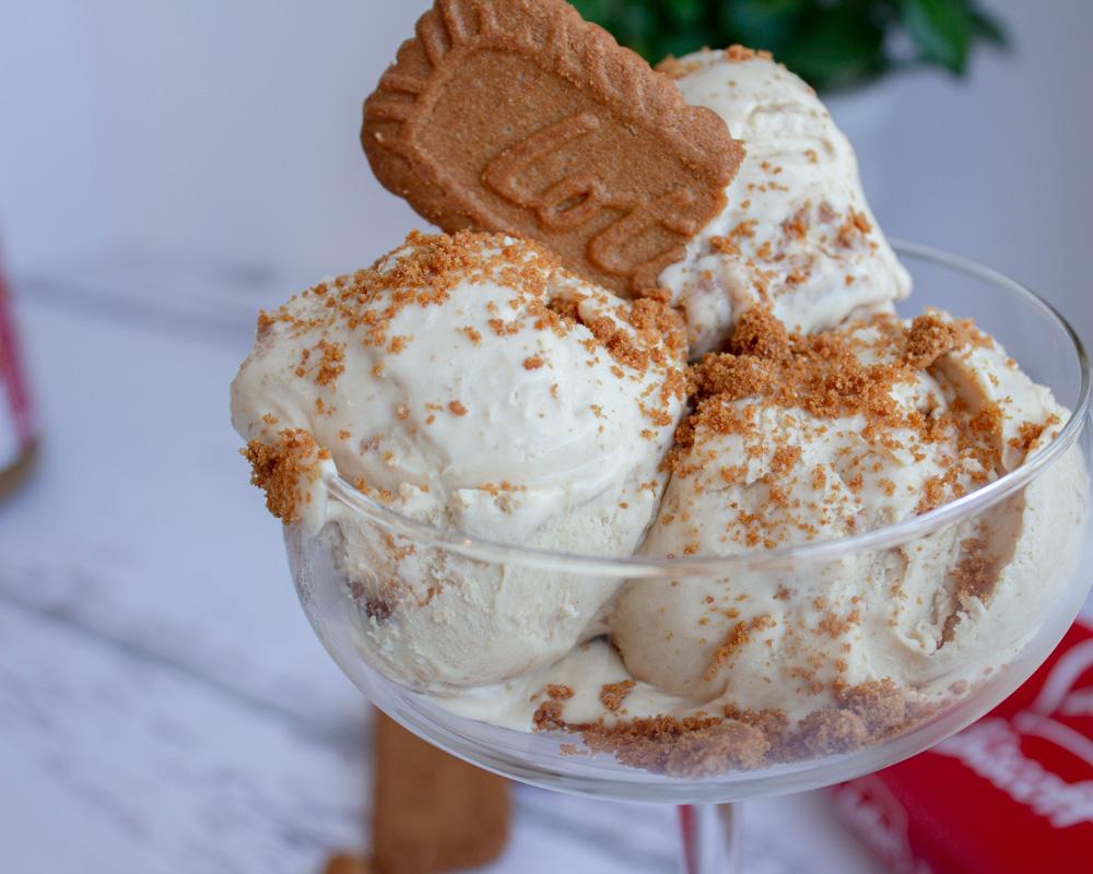 No Churn - Biscoff Ice Cream- FoodwithMae-4