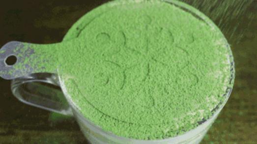 green tea serradura