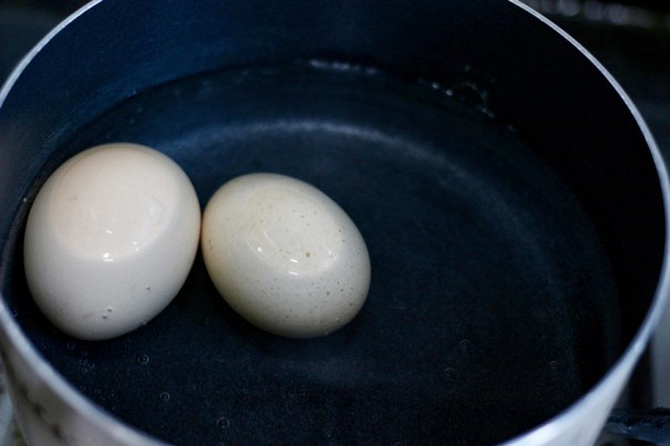 egg cheeses rice ball recipe