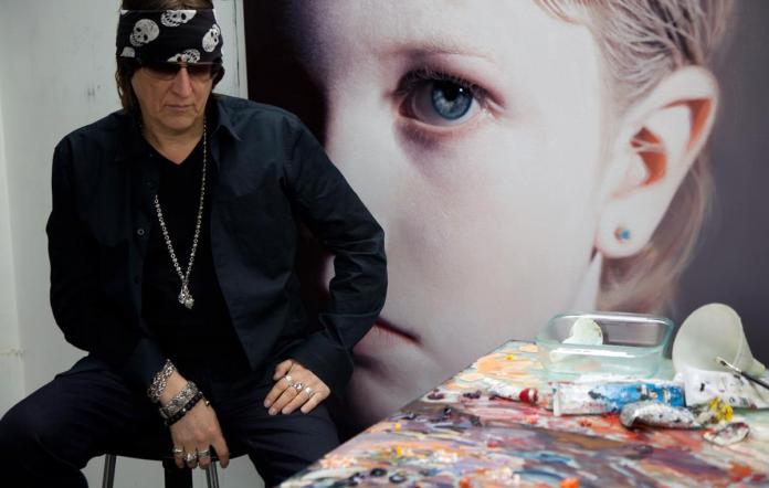 Gottfried-Helnwein-portrait