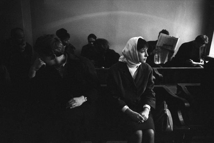 USSR. Moscow. Divorce. 1966.