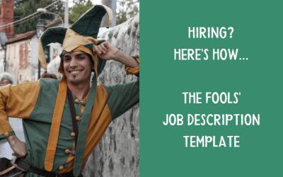 Hiring?  Here's the job description