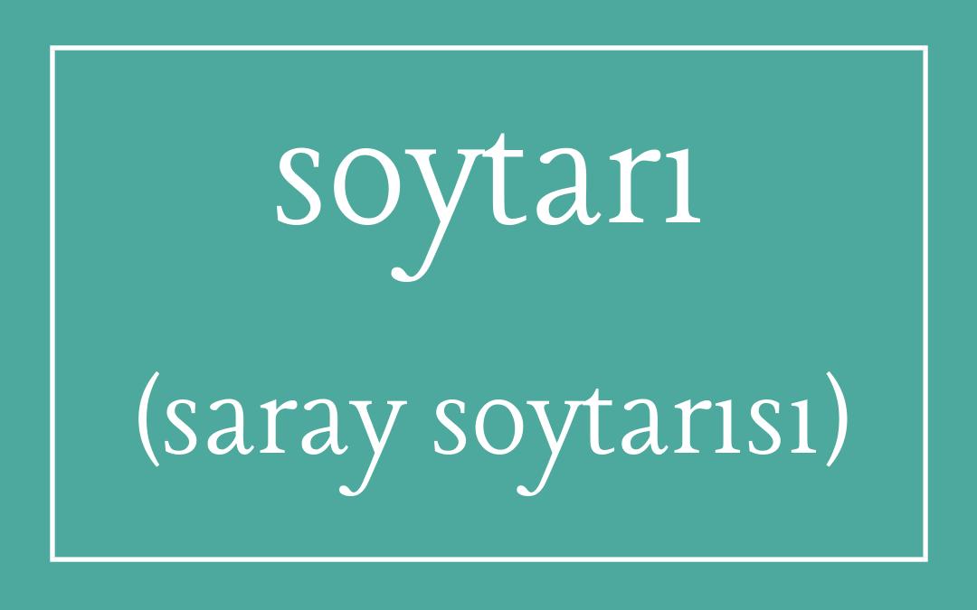 Soytarı – Turkish