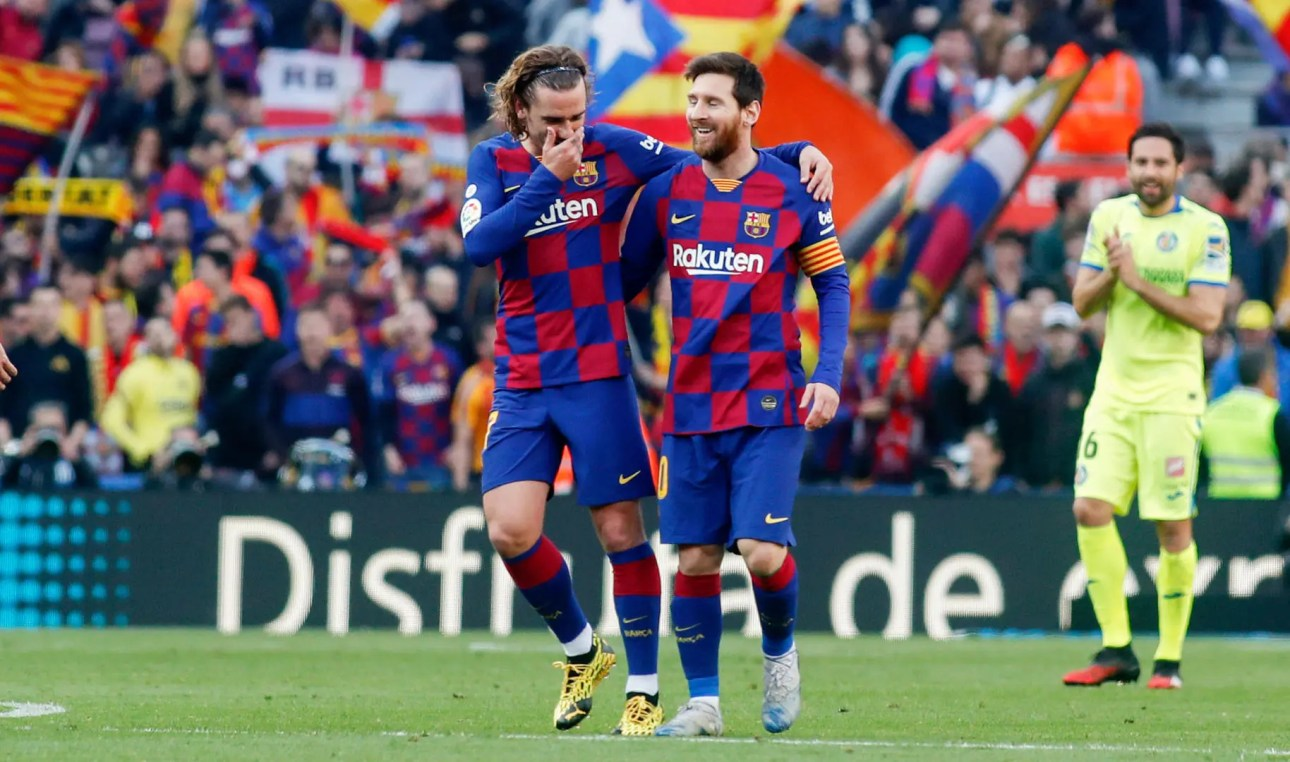 Antoine Griezmann's future in Barcelona depends on the outcome of negotiations with Lionel Messi