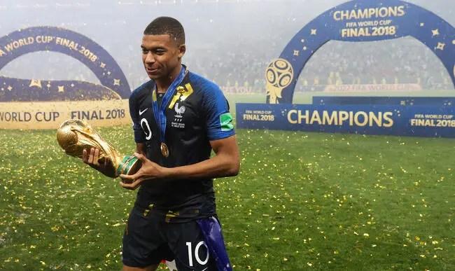 """Résultat de recherche d'images pour """"mbappe ballon d'or 2018"""""""