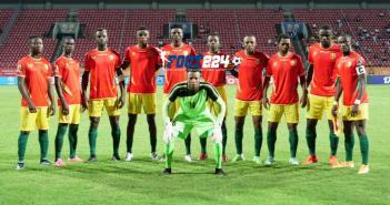 Le onze de départ de la Guinée face à la Namibie au CHAN 2020