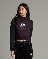 Nike Womens Rally Hood Hooded Top