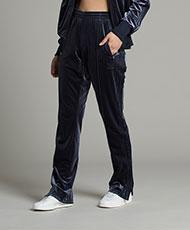 adidas Originals Womens Firebird Velour Track Pant