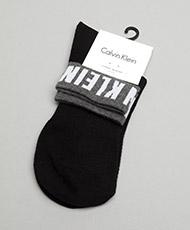 Calvin Klein Womens Modern Logo Ankle Sock