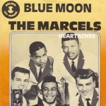 marcels blue moon vinyl LP