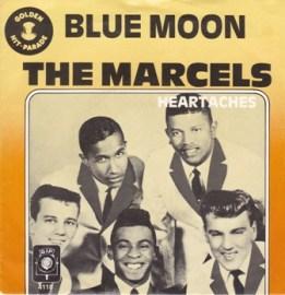 marcels blue moon vinyl LP