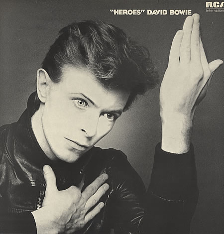 bowie-heroes LP disco 1977 cover