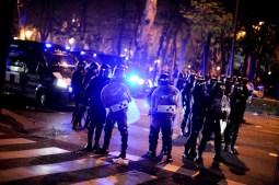 madrid ultras e polizia 9 maggio 2012