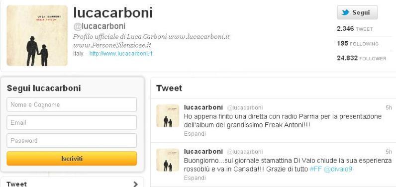 twitter luca carboni