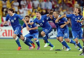 Quarter Final England vs Italy