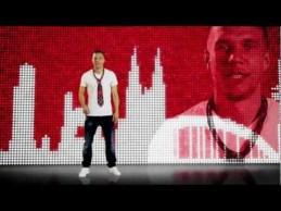 Musica e calcio si sposano con Lukas Podolski ed i Brings