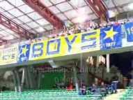 Coro Boys Parma sulla musica della sigla di Indietro tutta