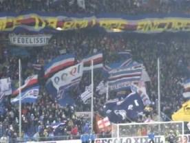 Musica e calcio con i Madness durante il derby di Genova 11-11-2012