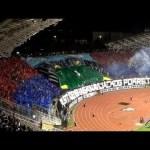 Coreografia ultras Hajduk vs Dinamo Zagabria 2013