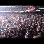 Calcio e musica techno per gli ultrà allo stadio del Feyenoord