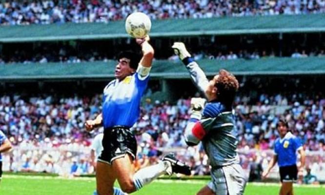 La Mano de Dios, la canzone che celebra il gol di Maradona ...