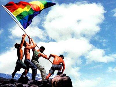 bandiera gay arcobaleno
