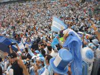 hinchas argentinos mundial 2014