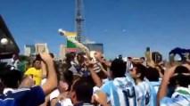 Il coro goliardico su Neymar dei tifosi argentini al mundial 2014