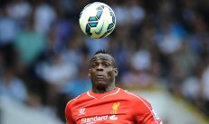 Mario Balotelli showed an appetite for hard work on his Liverpool debut, even defending at corners.