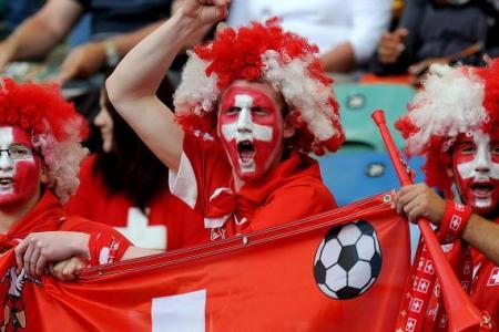 coro tifosi svizzeri mondiali