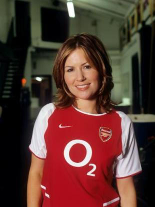 Singer and Arsenal fan Dido.