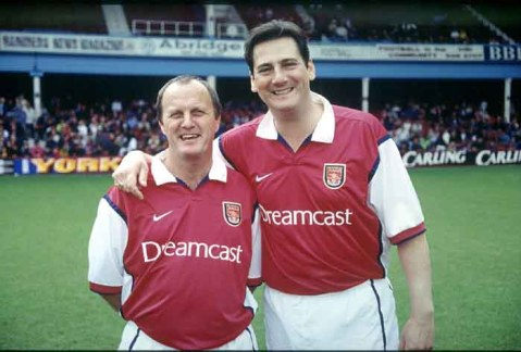 Tony Hadley tifoso arsenal
