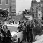 Chelsea: skinheads al corteo per la vittoria della Coppa Coppe 1971