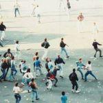 Genoa: Presenza skinheads negli incidenti tra Milanisti e Gradinata Nord 1990
