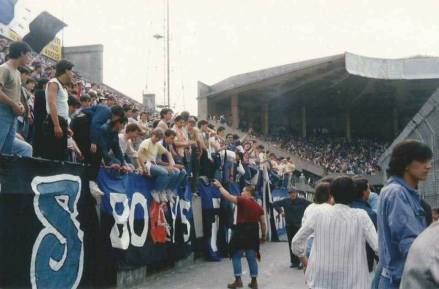 Pisa: skinheads allo stadio