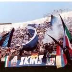 Inter: Striscione Skins con Bulldog boots & braces