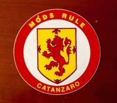 Catanzaro: adesivo Mods Rule