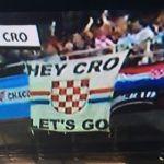striscione tifosi croazia