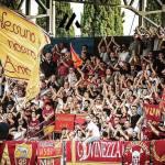 latina roma nuovo coro curva sud