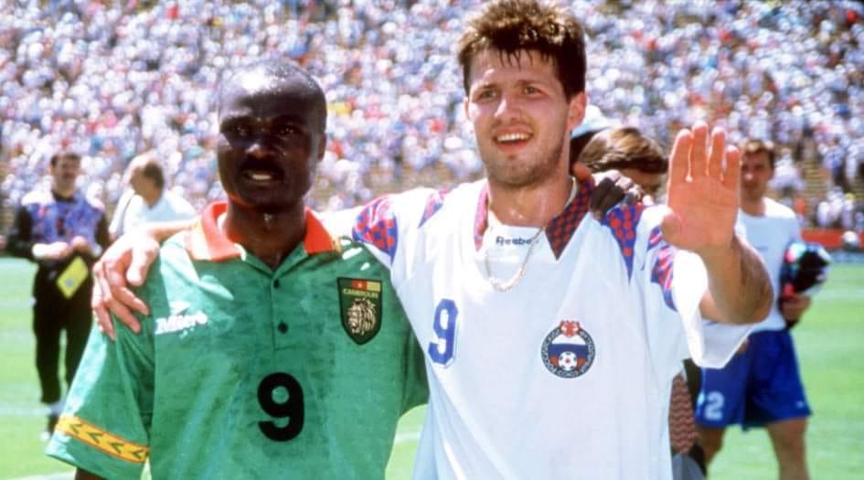 Salenko e Milla, USA '94: i gemelli diversi del gol