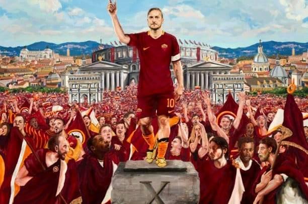 Francesco Totti, l'ultimo Imperatore di Roma