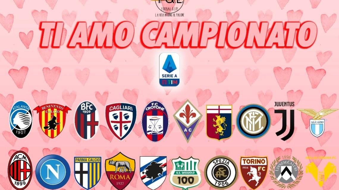 Ti amo campionato: riparte il romanzo della Serie A
