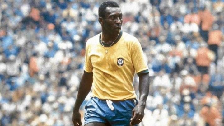 O Rey Pelé, il più grande di tutti, tricampione del Mondo
