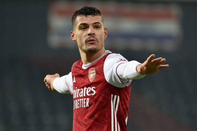 Agreed personal terms' – Xhaka's Arsenal exit moves closer